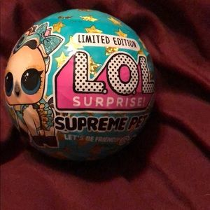 Other - Rare limited edition LOL doll ball